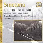 The bartered bride. Opera in the 3 acts. Prague nat. theatre & orc. Otekar Ostrcil. 2 CD.