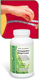 Botanic Choice Homeopathic Appetite Control Tablets - Appetite Suppressant and weight loss 90 Tablets Per Bottle