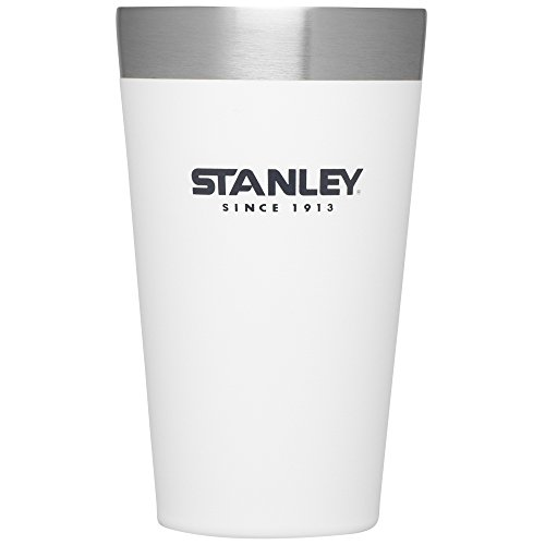 Stanley Adventure Stacking Vacuum Pint, 16 oz, Polar White