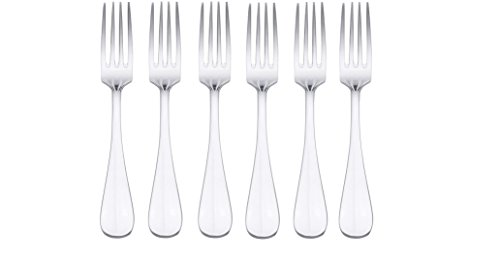 6 Dessert Forks - 3
