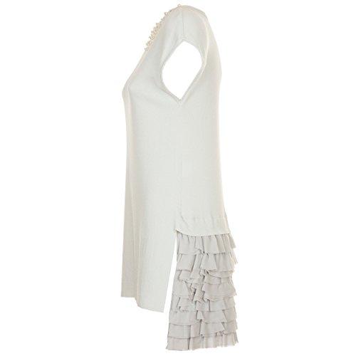 VialeScarpe - Vestido - para mujer gris