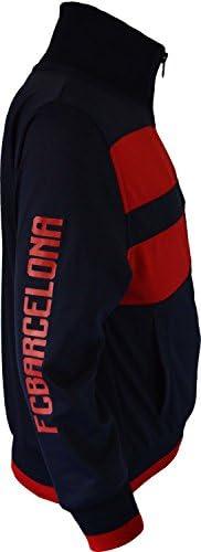Trainingsjacke mit Rei/ßverschluss Bar/ça f/ür Herren Erwachsenengr/ö/ße offizielles Produkt von FC Barcelona