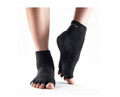 ToeSox Half Toe Yoga/Pilates Toe Socks With Grips from ToeSox, Inc.