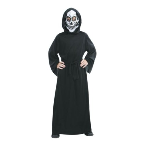 [Skeleton Reaper Child's Costume [Large]] (Kmart Costumes For Babies)