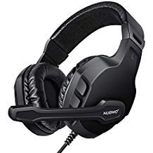 (Modohe NUBWO Gaming Headset Mic for Xbox one PS4 Controller, Skype PC Stereo Gamer Headphones with Microphone Computer Xbox one s Playstation 4 Xbox 1 x Games )