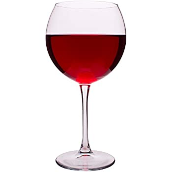 French Bistro Large Balloon Red Wine Glasses, 21.75 Ounce - Set of 2