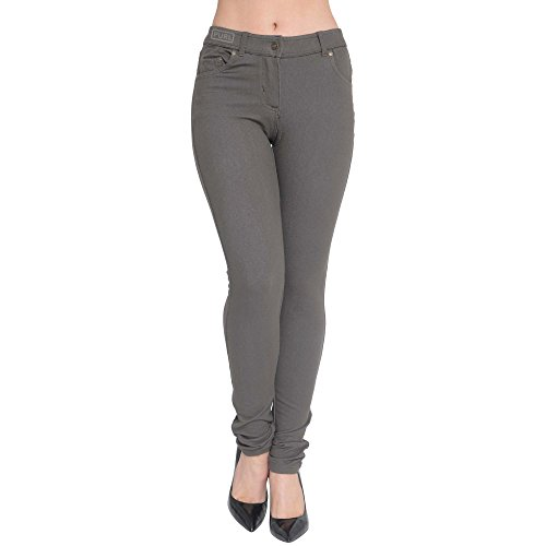 Mesdames 8C26 colors UK 46 Vert Jeggings Fit Skinny gwgqAxFXr