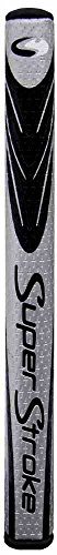 Putter Grip Black - Super Stroke Fatso 5.0 Silver/Black Putter Grip