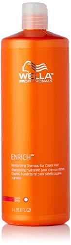 Wella Enriched Moisturizing Shampoo for Unisex, Coarse Hair, 33.8 Ounce