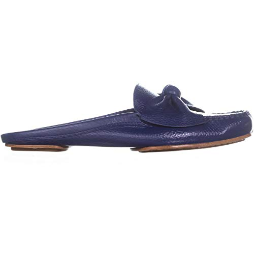 Garden York Leather Kate Women's on Loafer Spade Tumbled Blue Slip Mallory New T4OnFH48