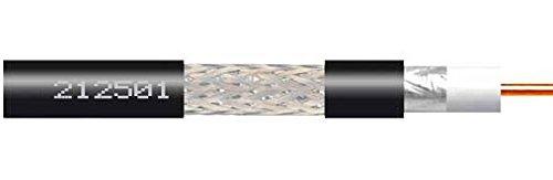 Televes - Cable coaxial t100 cobre/aluminio polietileno 250m negro: Amazon.es: Bricolaje y herramientas