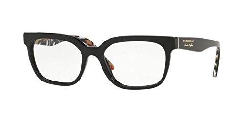 Burberry 0BE 2277 3735 53, Gafas de sol Unisex Adulto, Negro ...