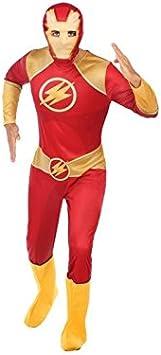 Atosa-56758 Disfraz Héroe Comic, Color Rojo, M-L (56758: Amazon ...