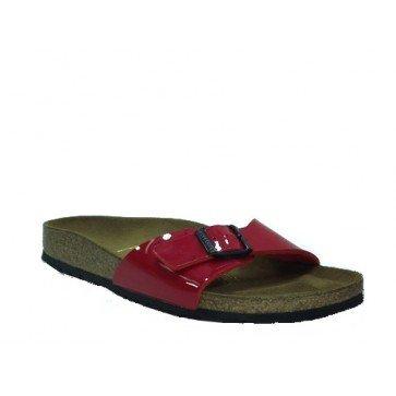 save off lowest discount buy best Birkenstock Madrid Rouge Vernis: Amazon.fr: Chaussures et Sacs