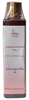 Ashwagandha Oil - 100% USDA CERTIFIED ORGANIC - Ayurvedic Body Massage Oil - 150ml