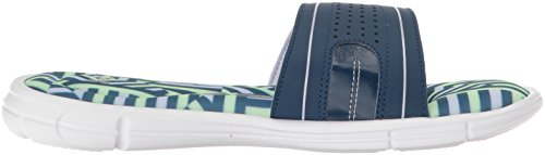 Under Armour Women s Ignite Finisher VIII Slide White/Blackout Navy/Lavender Ice