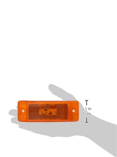 Grote G2103 Hi Count Yellow Turtleback II LED Clearance Marker Light