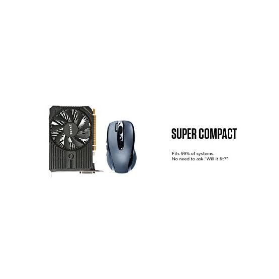 ZOTAC GeForce GTX 1050 Ti Mini, 4GB GDDR5 DisplayPort 128-bit Gaming Graphic Card (ZT-P10510A-10L) 31pCcuA 3cL. SS555