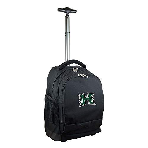 NCAA Hawaii Rainbow Warriors Expedition Wheeled Backpack, 19-inches, Black ()