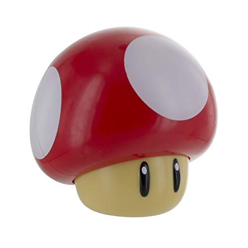 - Paladone Super Mario Toad Mushroom Table Lamp - Night Light