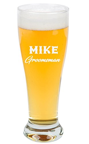Personalized Pilsner Glass 16 oz. | Beer Glass
