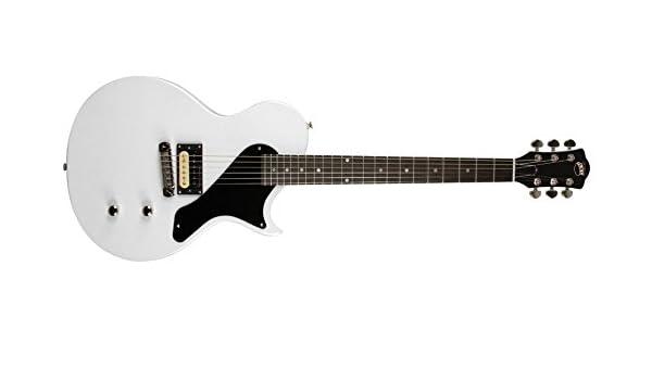 AXL AL-1080-MWH guitarra eléctrica - Blanco metálico: Amazon.es ...