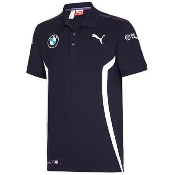 BMW Motorsport DTM Team Puma Polo Shirt talla L: Amazon.es: Coche ...