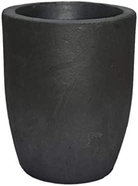 1-5kg Clay Graphite Foundry Crucible Furnace Torch Melting Casting Refining for Gold Silver Copper Brass Aluminum