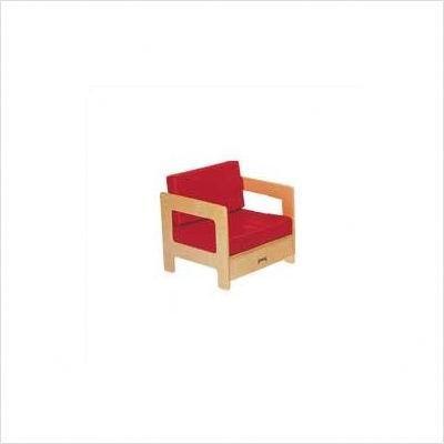 Jonti-Craft 0376JC Living Room Easy Chair, Red