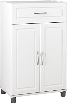 "SystemBuild Kendall 16"" Stackable Storage Cabinet"
