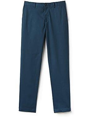 Lacoste Men's Men's Blue Chino Pants in Size W36 (46 EU) Blue