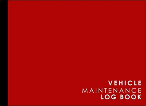 vehicle maintenance log repairs and maintenance record book for