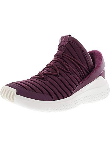 Nike Men's Jordan Flight Luxe Bordeaux / – Sail Ankle-High Fabric Basketball Shoe 9M – DiZiSports Store