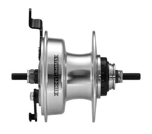 Sturmey Archer RXL-RD3 3 Speed Internal Geared Rear Bicycle Drum Brake Hub 36H ()