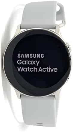 Samsung - Galaxy Watch Active Smartwatch 40mm Aluminum - Silver