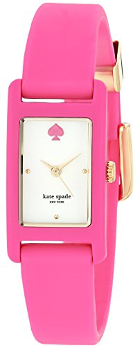 kate-spade-new-york-Womens-Duffy-Square-Quartz-Stainless-Steel-and-Silicone-Casual-Watch-ColorPink-Model-KSW1278