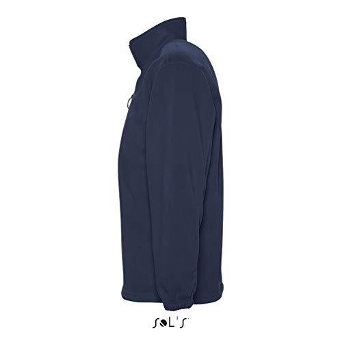 Sol's À Sweat Ness Avec Polaire Anti Marine Finition Tissu bouloche Zip Homme Shirt Montant Col SrSwqU