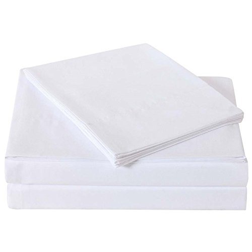 Truly Soft Sheet Sets for Everyday Use White Twin Sheet