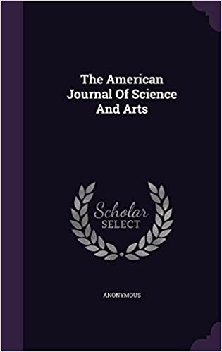 Book The American Journal Of Science And Arts