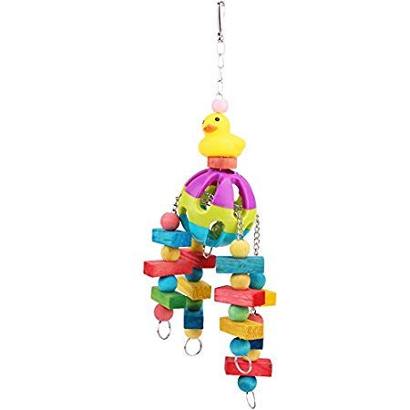 Toys Parrots - Acrylic Bird Bite Toys Colorful Parrot Chew Cage Hanging Bait Swing Conure - Glasses Conure Caitec Crab Dolls Parrot Cages Angered бейблэйд Bait