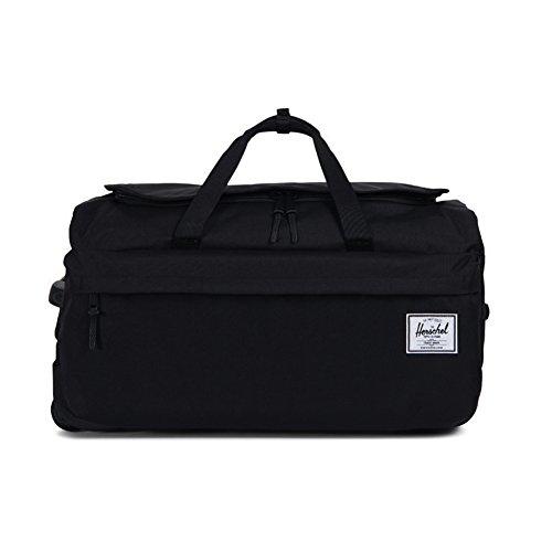 Herschel Supply Co. Wheelie Outfitter Travel Duffle, Black, One Size by Herschel Supply Co.