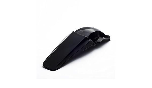 color negro Cemoto Guardabarros trasero para Honda CRF 450 2002//2004