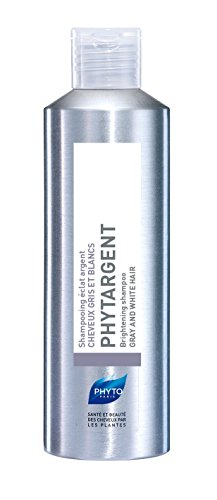 PHYTARGENT Botanical Brightening Shampoo | Paraben Free, Sulfate Free | For Gray, White, Platinum Blonde Hair | Neutralizes Oxidation, Illuminates Natural Highlights | Hydrates Hair, Provides Shine