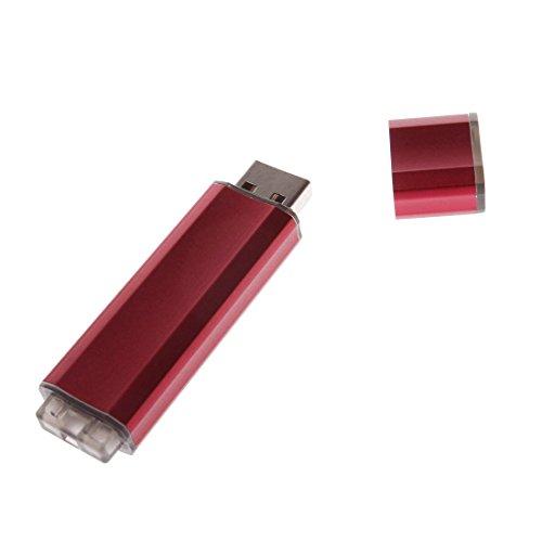 USB Storage Disk Alumium Red 32GB