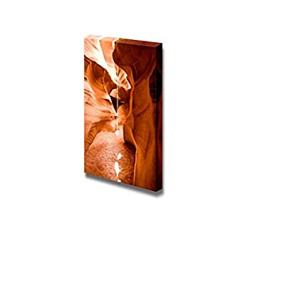 Majestic Rock Landscape Antelope Canyon on Navajo Land Near Page Rizona - Canvas Art Wall Art - 36