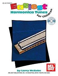 Easiest Harmonica Tunes for Children Book/CD -
