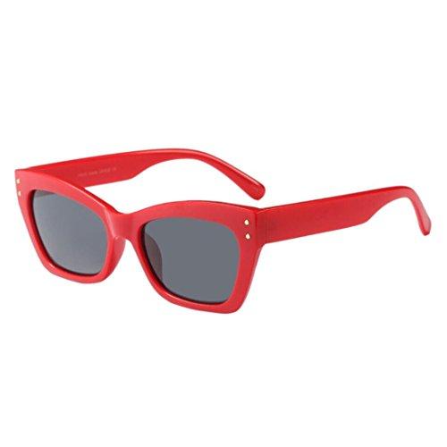 C Retro Gafas sol de Super Vintage Cat Eye Moda Eyewear Mujer Keepwin BxwPqf1Sf