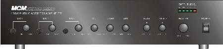 MCM Custom Audio 555-4935 PA MIXER AMPLIFIER 120W RMS SIX