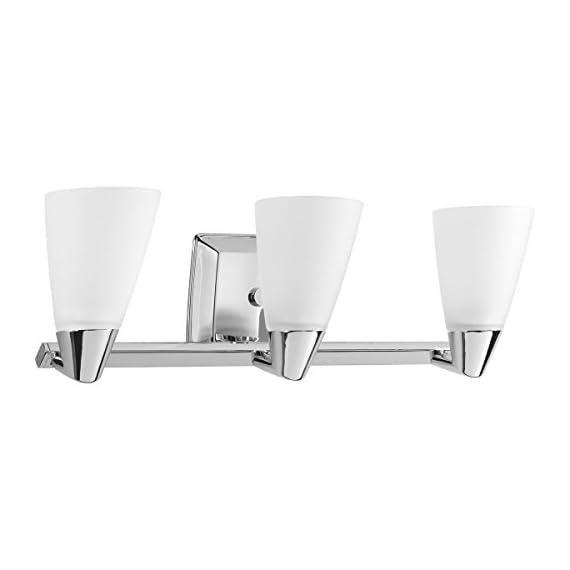 Progress Lighting P2807-15 3 Light Rizu Bathroom Light - Etched glass 22-1/2-Inch Width by 7-1/4-Inch Height Uses (3) 100-Watt medium base bulbs (not included) - bathroom-lights, bathroom-fixtures-hardware, bathroom - 31pD2PT0LjL. SS570  -