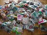 20 Assorted Vintage Toys and Animals from Mcdonalds/Burger King Happy Meals - Great for birthday parties, prizes, fundraisers etc. - including Disney Toys and Ty Teenie Beanies each lot is different
